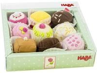 HABA Soft Petit Fours Set Of 9 Dessert Toys (Multicolor)
