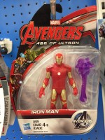 Avengers Avn 3.75 Inch All Star Figr Iron Man (Multicolor)