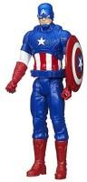 Marvel Avengers Titan Hero Series Captain America 12-Inch Figure (Multicolor)