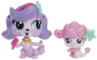 Littlest Pet Shop Pet Pawsabilities Zoe Trent & Cherie Lebrie (Multicolor)
