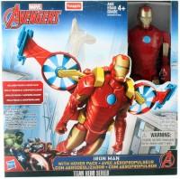 FunSkool Avengers Titan Hero & Vehicle - Iron Man (Multicolor)