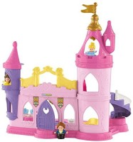 Fisher-Price Little People Disney Princess Musical Dancing Palace, Standard Packaging (Multicolor)