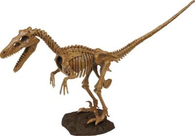 Geoworld Action Figures Geoworld Dino Excavation Kit Velociraptor Skeleton