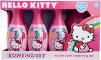 Hello Kitty Bowling Set In Display Box Include 6 Pins And Bowling Ball (Multicolor)