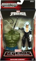 Funskool Marvel Legends Infinite Series, Spider-Man: Skyline Sirens-Black Cat Figure , Hasbro (Multicolor)