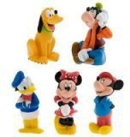 Disney Mickey Mouse And Friends Squeeze Toy Set - 5-Pc (Multicolor)