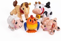 Tolo First Farm - Organic Farm Animals (Multicolor)
