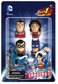 DC COMICS Eraser Pack Set A (4Piece)