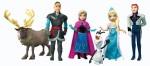 Disney Action Figures Disney Frozen Complete Story Playset