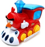 Smartkshop Action Figures Smartkshop Angry Bird train Battery Operated Toy Animal For Kids Gift Toy