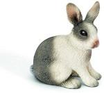 Schleich Action Figures Schleich Sitting Rabbit Toy Figure