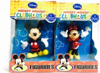 GRV Kreations Disney Mickey Mouse & Minnie - Pack Of 2 Pcs (Multicolor)