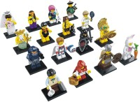 Lego Minifigures Series 7 Complete Set Of 16 8831 (Multicolor)
