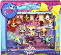 Hasbro Littlest Pet Shop Limited Edition Collector's 10-Pack [Horse, Panther, Dachsund, Cockatoo, Guinea Pig, Hamster, Turtle, Fox, Bear & Bunny] (Multicolor)