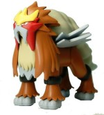 Bandai Action Figures Bandai Pokemon Entei Building Kit [Japan]