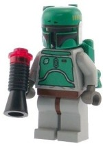 Lego Action Figures Lego Star Wars Boba Fett Minifigure