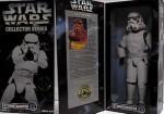 "Star Wars Action Figures Star Wars Collector Series 12"" Stormtrooper"
