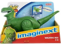 Imaginext Toy Story 3 Walking Rex (Multicolor)