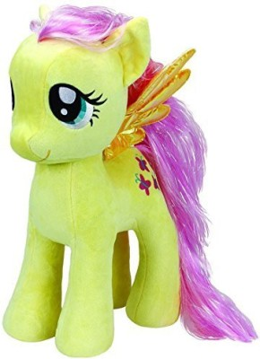 TY Beanie Babies Action Figures TY Beanie Babies Beanies My Little Pony Fluttershy Large Yellow
