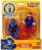 DC Comics Action Figures DC Comics Imaginext Justice League Superman & Darkseid