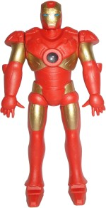 Marvel Action Figures Marvel Ironman The Avengers With Letest Projection Light