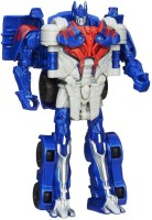 Vaibhav Transformers Age Of Extinction One Step Changer Optimus Prime Toy Convert Into Truck (Blue, Red, Grey)