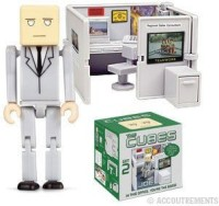 Accoutrements The Cubes 2: Joe Mini-Figure Playset (Multicolor)