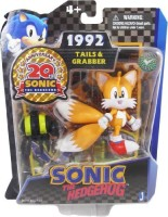 Sonic The Hedgehog 20th Anniversary 3.5 Inch Action Figure 1992 Tails Grabber (Multicolor)