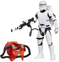 Star Wars The Force Awakens 3.75-Figure Space Mission Armor First Order Flametrooper (Multicolor)