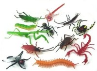Rhode Island Novelty ~ 144 ~ Assorted Realistic Insects / Bugs (Multicolor)