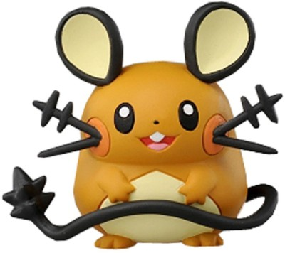Takaratomy Cars, Trains & Bikes Takaratomy Official Pokemon Figure, Dedenne