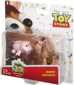 Mattel Hamm and Bullseye Figure