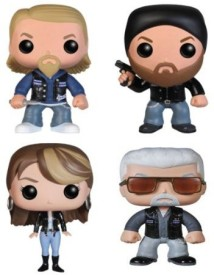 Funko Pop Television Sons Of Anarchy Vinyl Set Of 4