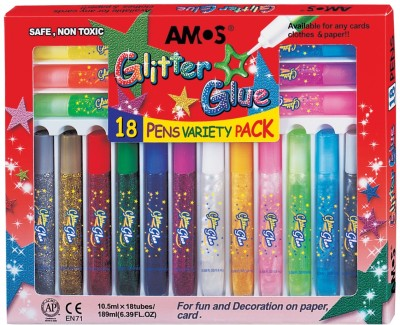 Buy Amos Non-toxic Glitter Glue: Adhesive Tool
