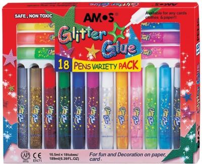 Buy Amos Non-toxic Glitter Glue: Adhesive Tool