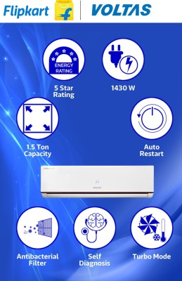 Voltas Jade 185 JY 1.5 Ton 5 Star Split Air Conditioner
