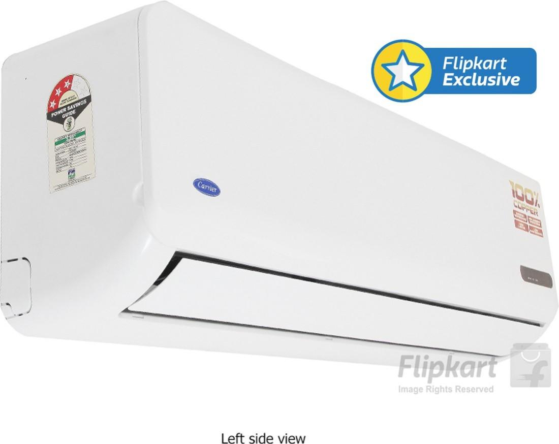 Star Split AC White Price in India Buy Carrier 1.5 Ton 3 Star Split  #C5AB06