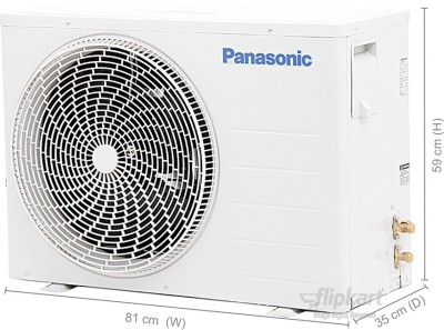 Panasonic 1.5 Tons 5 Star Split AC White (KC18RKY1)