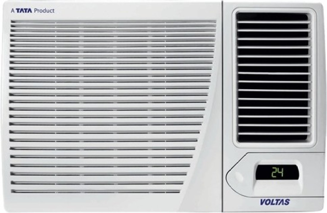 Voltas 183cya 1 5 ton 3 star window ac price in india for 1 ton window ac price list 2013