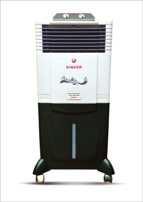 Singer Atlantic Jumbo Personal Air Cooler (White, Black, 50 Litres)