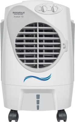 Maharaja Whiteline CO-125 Personal Air Cooler (White and Grey, 10 Litres)