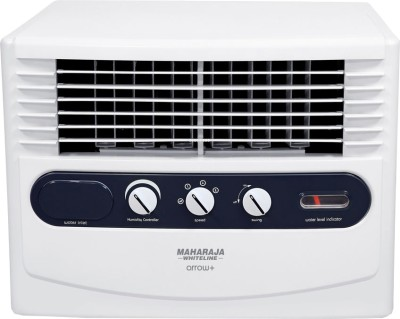 Maharaja Whiteline CO-100 Personal Air Cooler (White and Grey, 30 Litres)