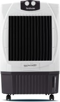Hindware Snowcrest Room Air Cooler (White & Brown, 50 Litres)