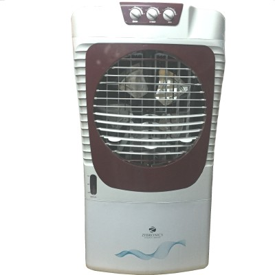 Zebronics 65RM WITH HONEY COMB Room Air Cooler (White, 65 Litres)