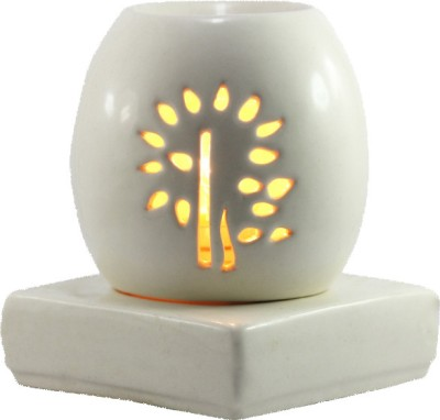 Brahmz Aroma Oil Burner - Electric Oval Rose Electric Diffuser Air Freshener 800 g