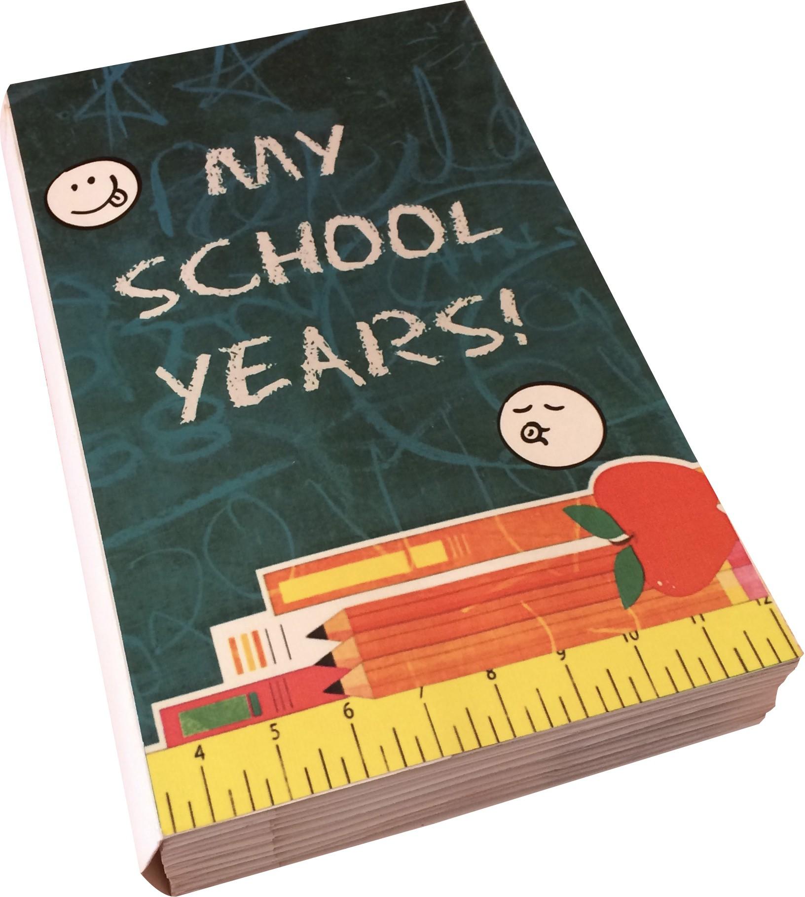 How to scrapbook school years - Crack Of Dawn Crafts My School Years Handmade
