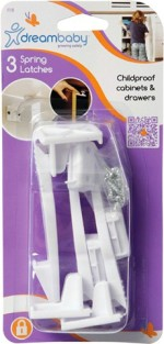 Dream Baby All Purpose Cleaners Dream Baby Spring Latches~3 Pack