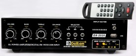 Deltan DX2020 50 W AV Control Amplifier