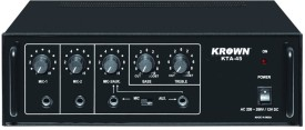 Krown KTA-45 Professional Medium Series PA System 40 W AV Power Amplifier