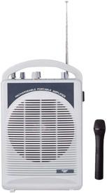 Krown Portable Wireless Rechargeable PA System with inbuilt Speaker & Mic 20 W AV Power Amplifier